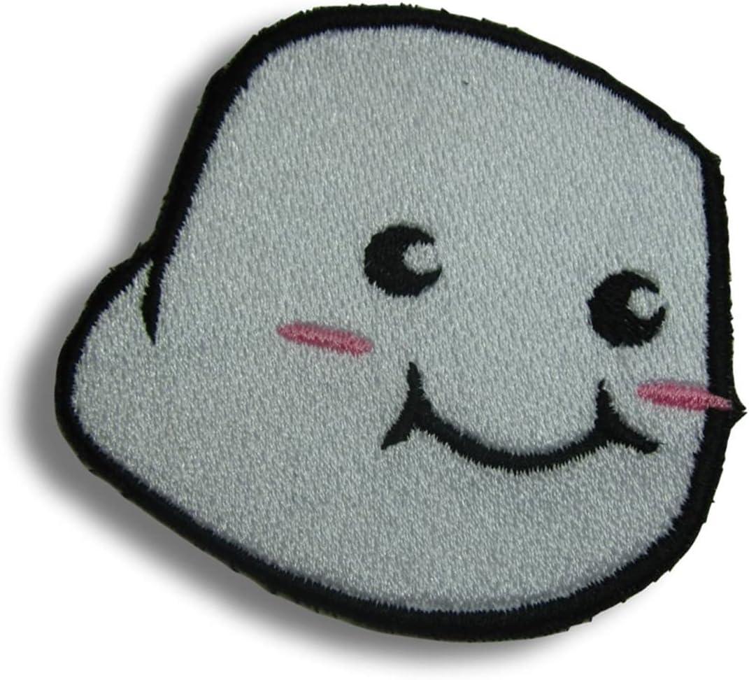 Marshmallow Patch Kawaii Iron or sew on