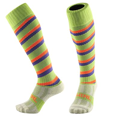 11a7bf10cd8 Samson Hosiery ® Swirl Spiral Candy Cane Funky Novelty Socks Fashion Gift  Football Rugby Sports And Casual Knee High Socks For Men Women Kids Unisex   ...