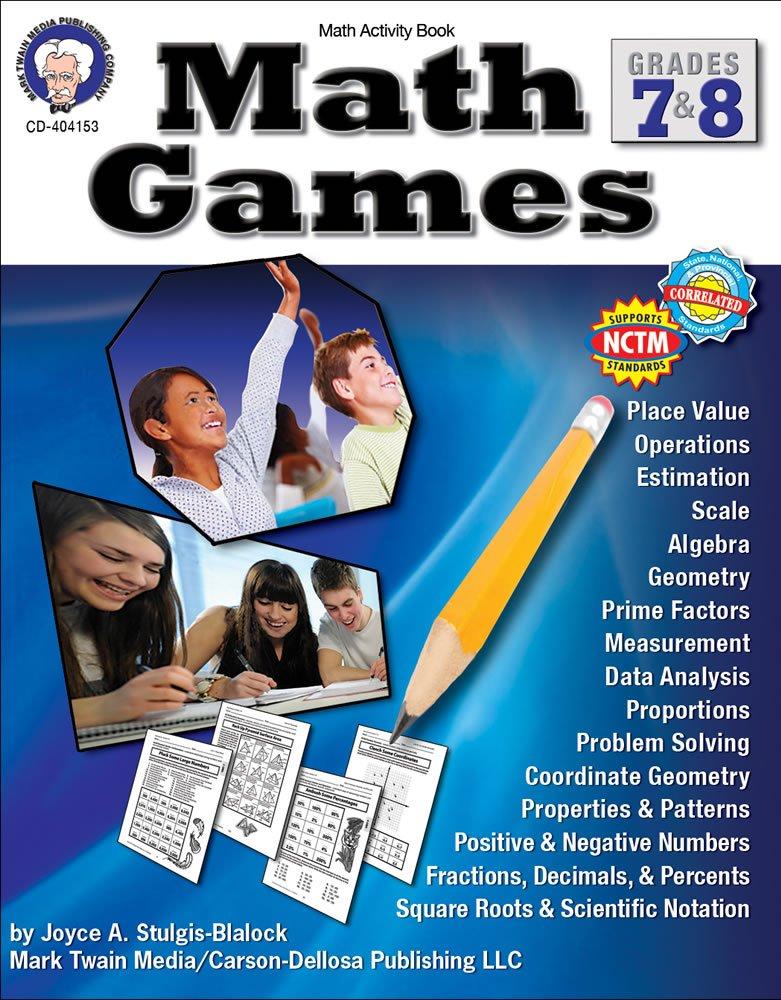 Grades 7-8 Math Games