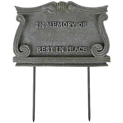 Trenton Gifts Pet Monument Plaque | Stone-Look Weather Resistant Marker: Pet Supplies
