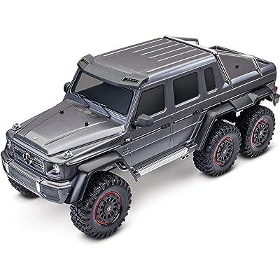 Traxxas 88096-4-SLVR TRX-4 Crawler w/Mercedes Benz G 63 AMG Body:1/10 6X6 RTR: Automotive