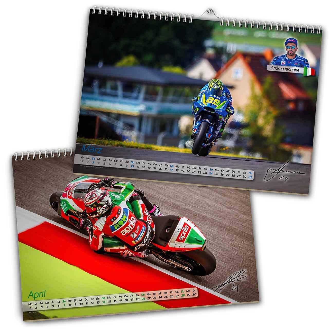 motorrad grand prix kalender 2019 premium wandkalender topseller motogp