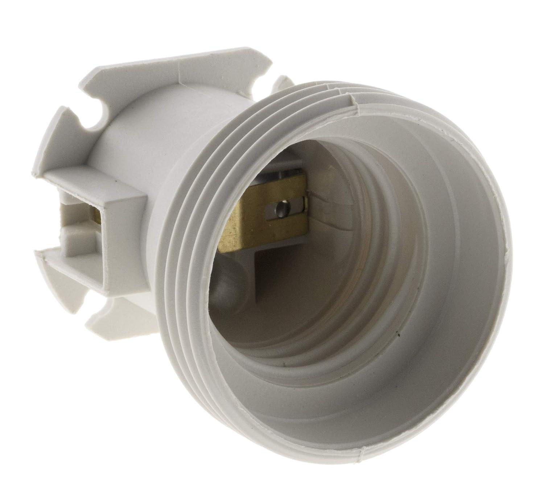 Zenitech 140803 Set de 5 Douilles de Chantier, Blanc HBF
