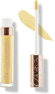 product image for 100% PURE 2nd Skin Corrector, Yellow, Liquid Color Correcting Concealer, Dark Under Eye Circles Corrector, No Creasing or Caking, Medium to Full Coverage - 0.17 Fl Oz
