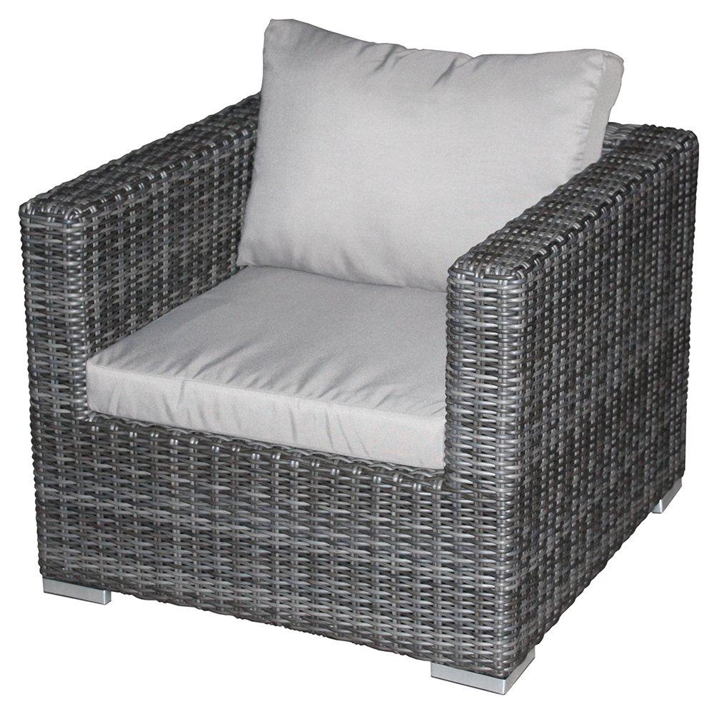 Zebra Jack Lounge Einzelsessel taupe