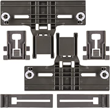 UPGRADED W10350376 Dishwasher Top Rack Adjuster /& W10195839 Dishwasher Rack Adjuster /& W10195840 Dishwasher Positioner Fit For Whirlpool Kenmore Redesigned for Heavy Duty Wheel Support