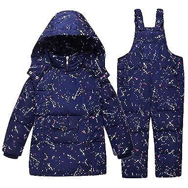 58e69d030 FAIRYRAIN - Traje de nieve - para bebé niño azul azul marino 3-4 Años   Amazon.es  Ropa y accesorios