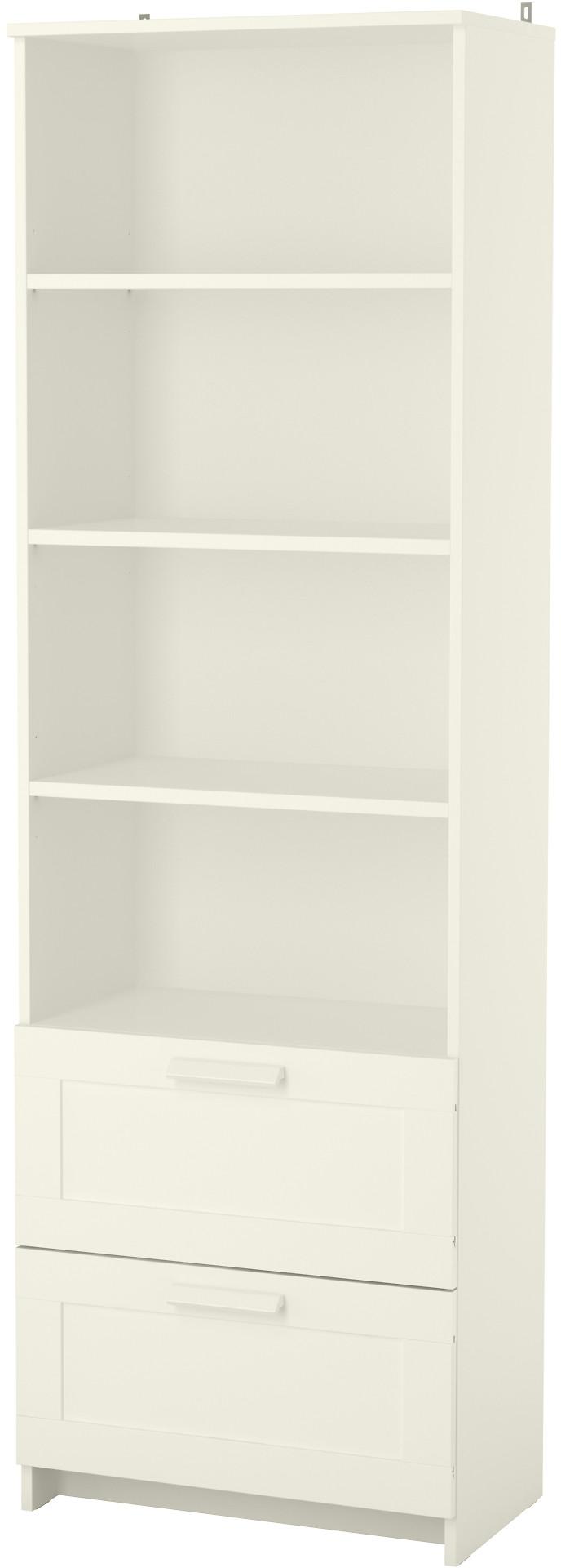 BRIMNES Bookcase - white - IKEA