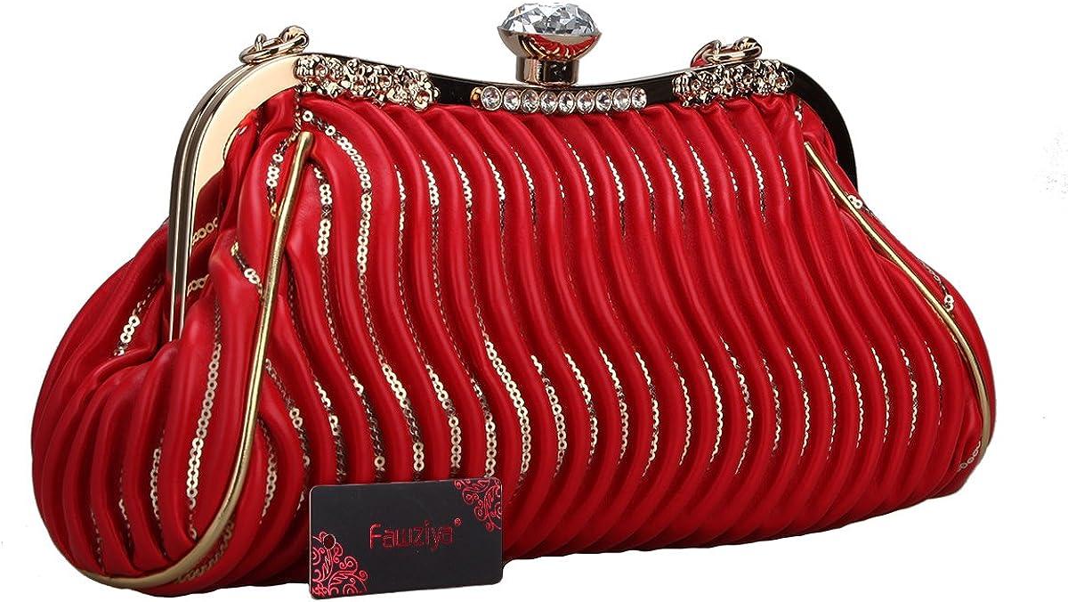 Fawziya Big Crystal Small Handbags For Womens Bags And Purses