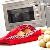 Borsa per Patate al Microonde Cuoci Patate da Microonde Cook Tatoes