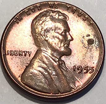 1955 D Lincoln Wheat Cent Extra Fine Penny XF