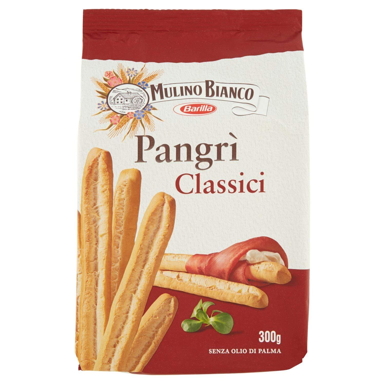 Mulino Bianco Grissini Classici Pangr�, Snack Salato per la Merenda- 300 g