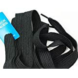Shoe Laces Flat Thick - 52 Inches Long - Black Shoelaces