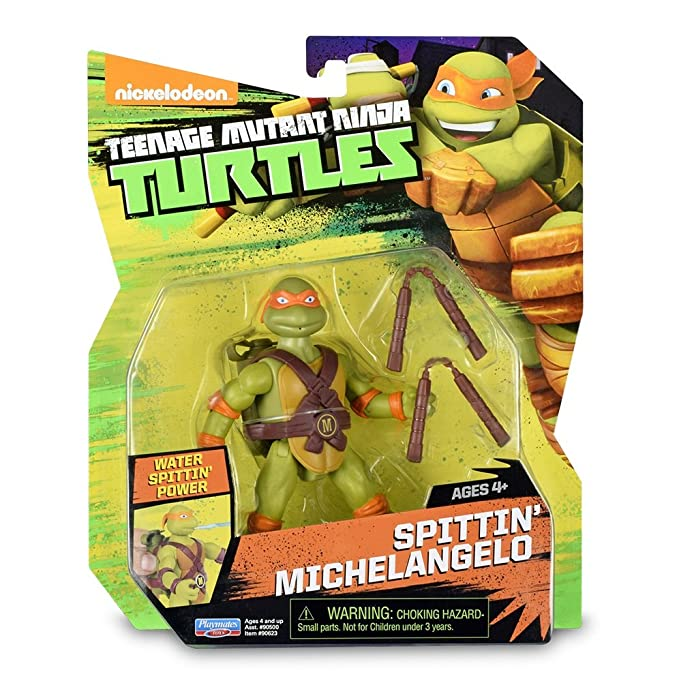 Tortugas Ninja - Animation Blister - Spitting Michelangelo ...