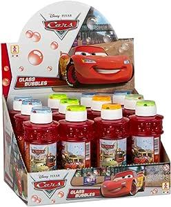 ColorBaby - Caja pomperos Cars, 300 ml, con 12 Unidades de (24228): Amazon.es: Juguetes y juegos