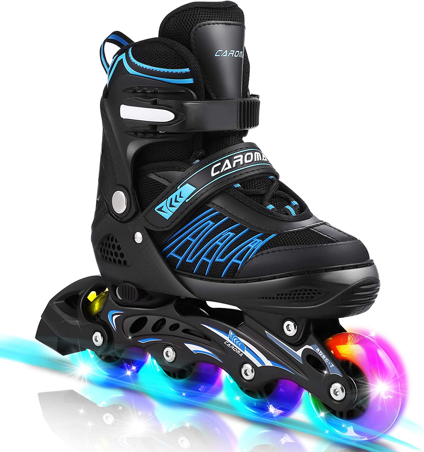 Caroma Inline Skates Women with Max 40% OFF 8 Opening large release sale LED Wheels Outdoor 4 Up Lights