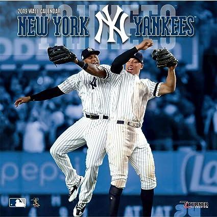 Yankee Calendar 2019 Amazon.com: Turner Licensing New York Yankees 2019 Wall Calendar