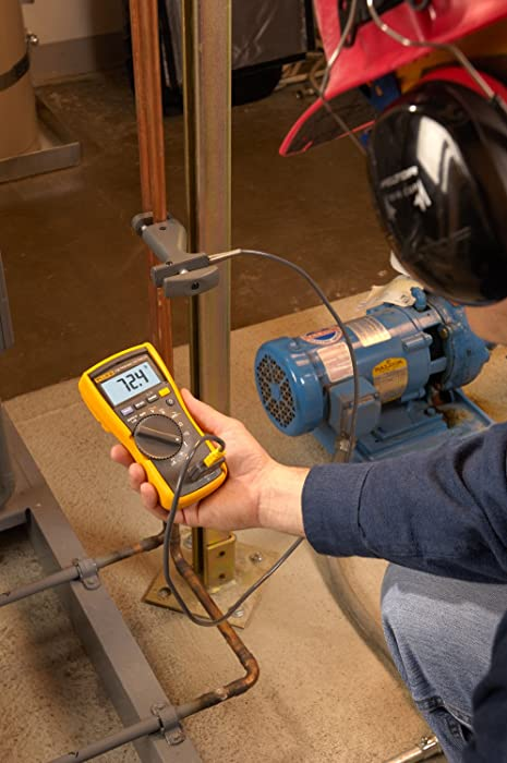 The Fluke 116 / 323 KIT HVAC Best Multimeter and ClampMeter ComboKit is designed for both residential and commercial electricians.
