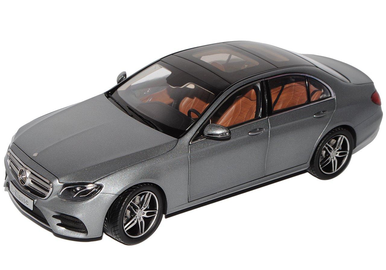 Kyosho Mercedes-Benz E-Klasse W213 AMG Line Limousine Selenit Grau Ab 2016 1//18 I-Scale Modell Auto mit individiuellem Wunschkennzeichen