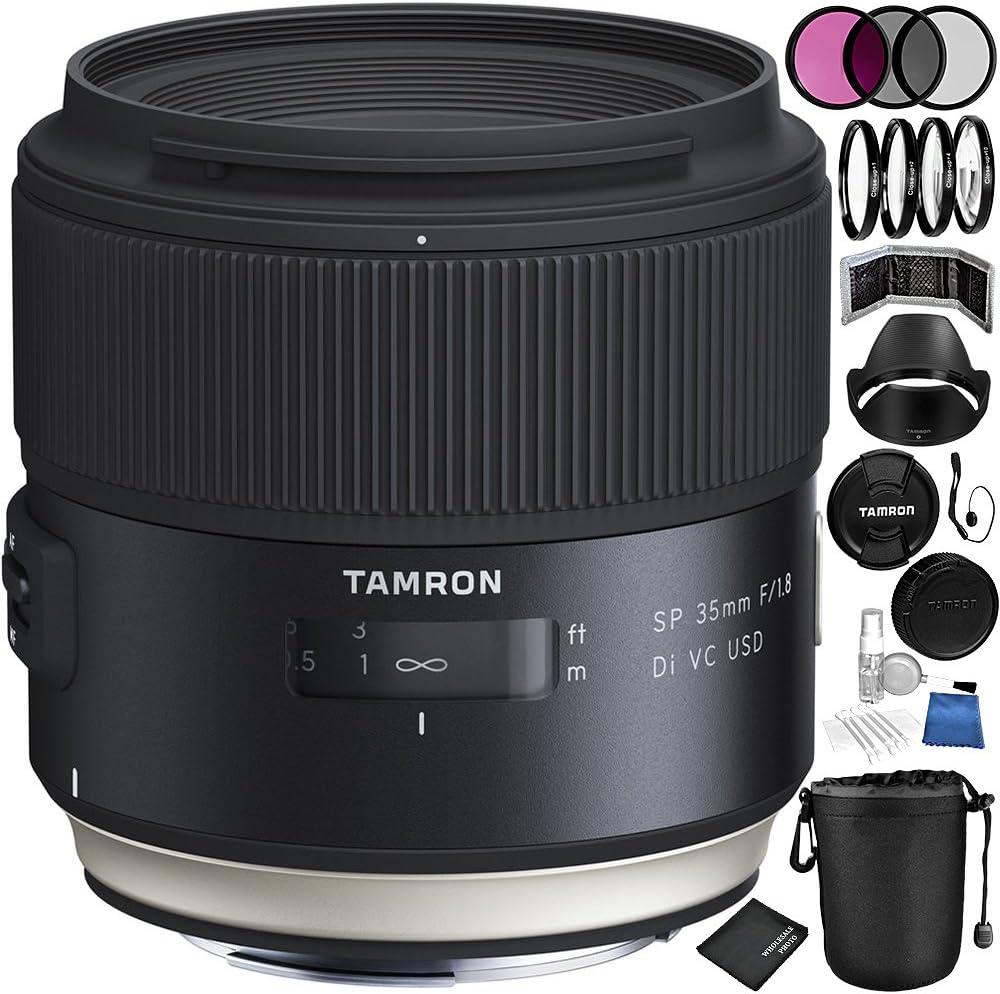 Tamron Sp 35 Mm F 1 8 Di Vc Usd Objektiv Für Nikon F Kamera