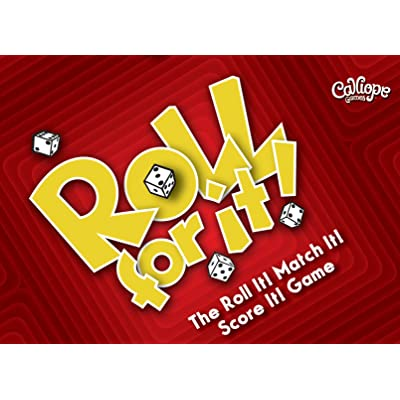 Calliope Games Roll For It! - Red Edition: Toys & Games
