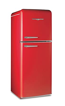 Amazon.com: Northstar 1951CR Candy Red 11.5.cu. ft. Refrigerator by ...