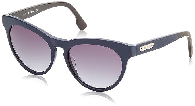 Diesel Sonnenbrille DL0150 5690W, Gafas de Sol para Mujer, Azul (Blau),