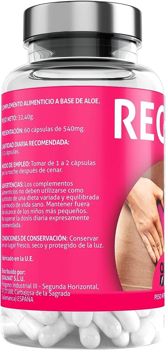 Detox | Suplemento Alimenticio a base de Aloe vera Puro | Elimina toxinas | 120 Cápsulas- Qualnat