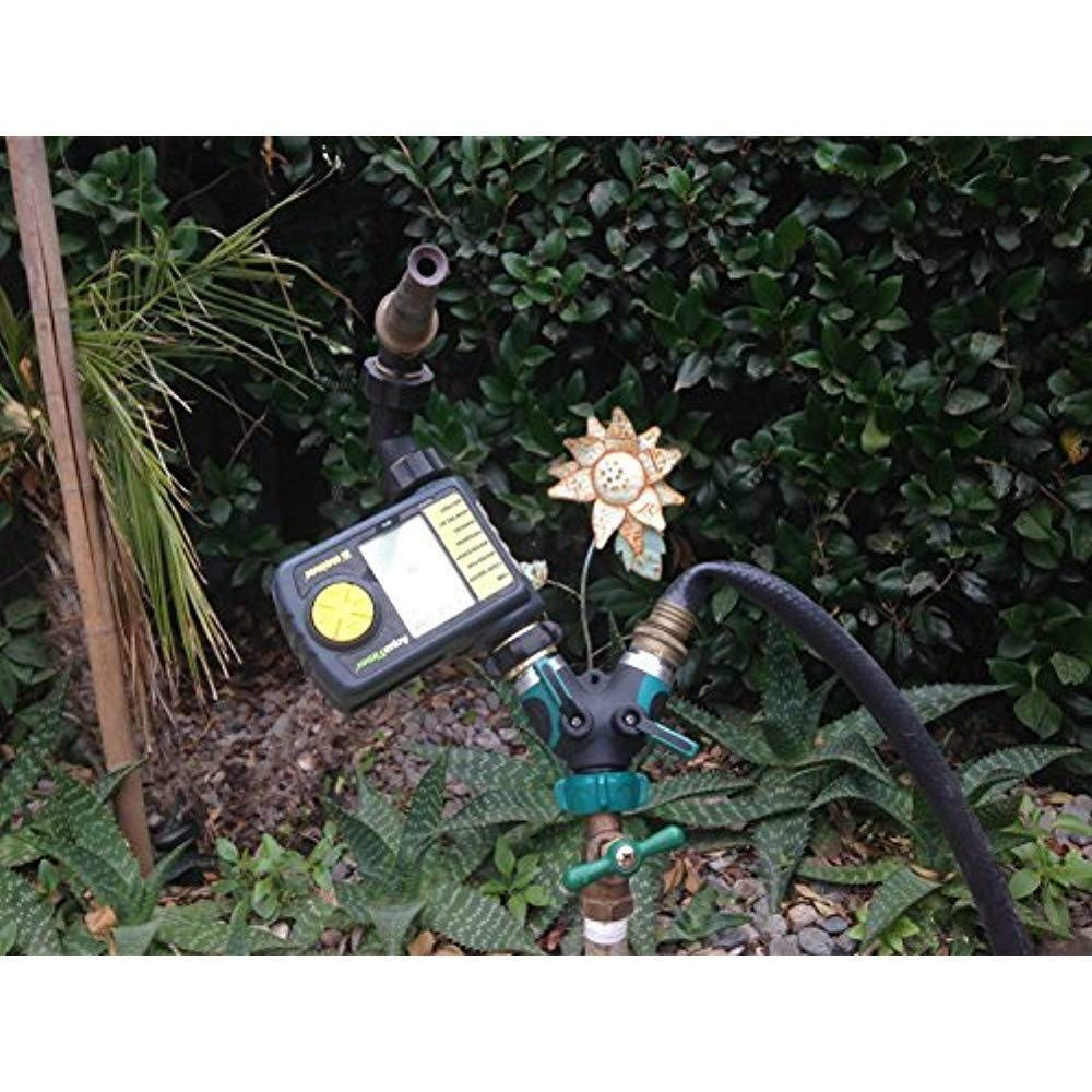 Bolted P48405 : 100/% Secured 2017 Does not apply All Metal Body Garden Hose Splitter Newly Upgraded