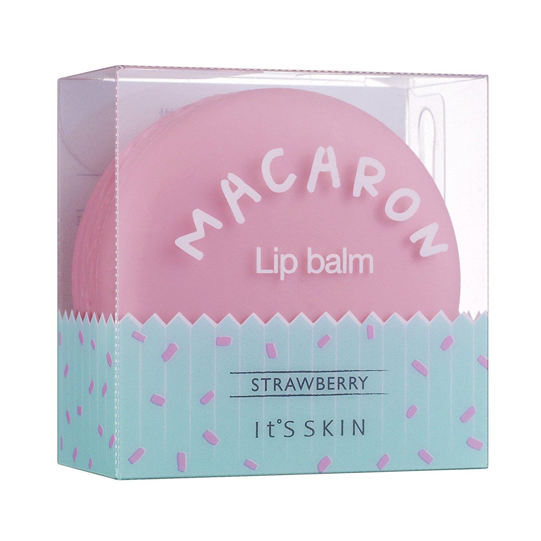 It´s Skin - Macaron Lip Balm - Cute Lip Care - Wonderful Lips (01 Strawberry) N/A