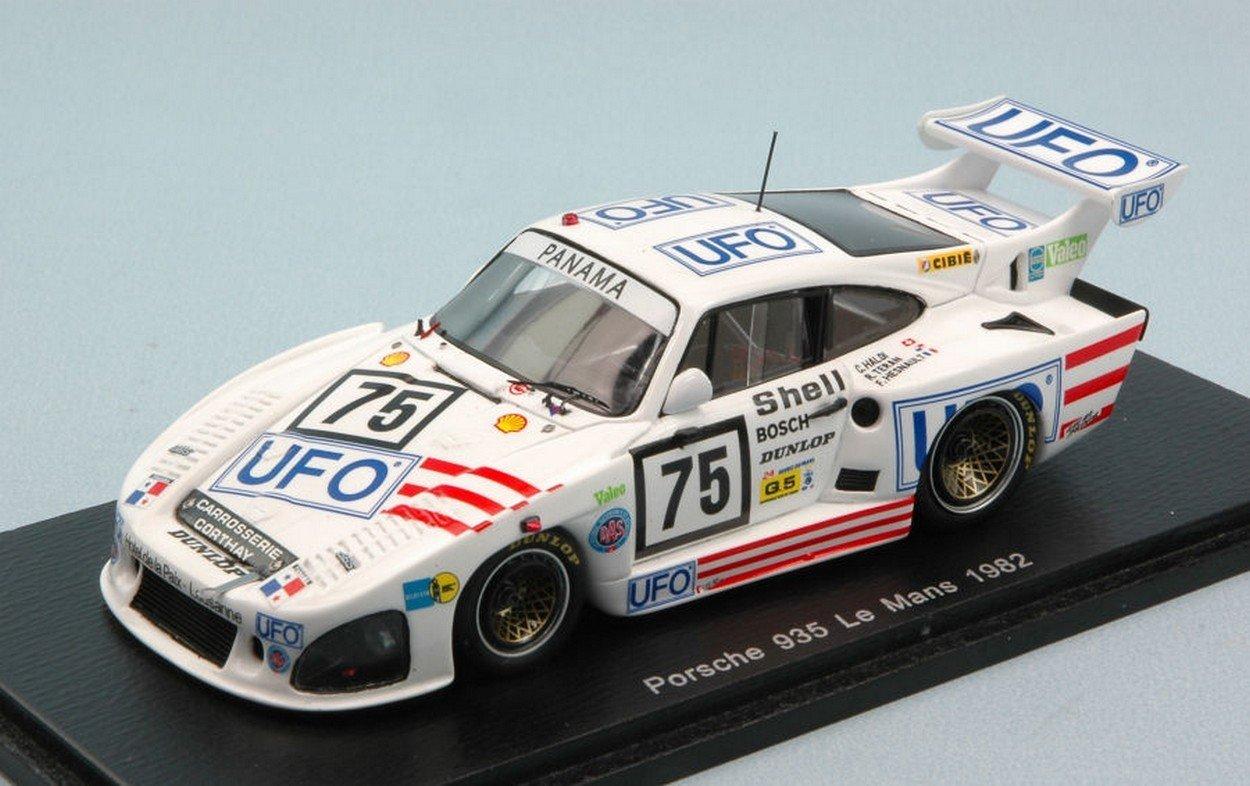 Spark Model S4429 Porsche 935 N.75 DNF LM 1982 C.HALDI-R.Teran-F.HESNAULT 1:43