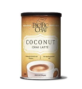 Pacific Chai Chai Latte, Coconut, 10 oz