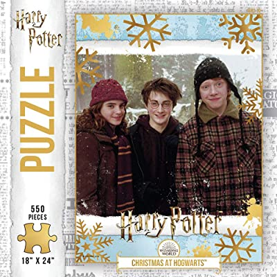 Harry Potter Christmas in The Wizarding World 500Piece Premium Puzzle | Official Harry Potter Merchandise | Jigsaw Puzzles: Toys & Games
