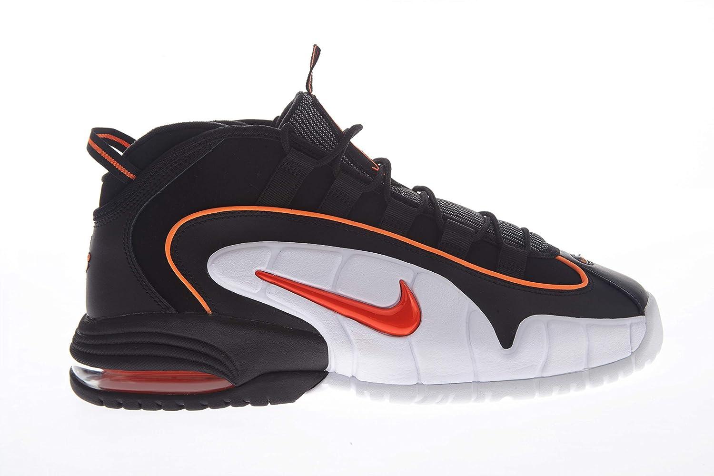 Nike Herren Air Air Air Max Penny Basketballschuhe, Mehrfarbig (schwarz Total Orange Weiß 002), 47.5 EU dccd6c