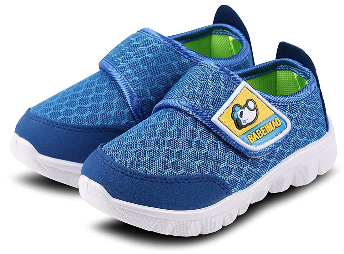 Femizee Toddler Boys Girls Lightweight Mesh Sneakers Kids Athletic Running Shoes