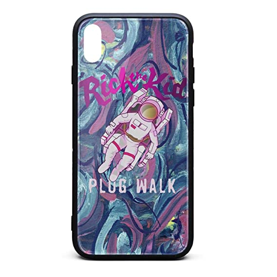 buy online ead82 9aee6 Amazon.com: Rich-The-Kid-Plug-Walk- Phone Case for iPhone X/XS TPU ...