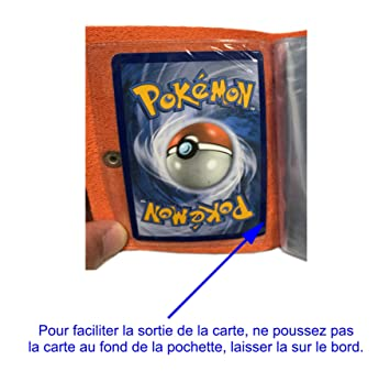 Lagiwa Mini Classeur Souple Pour Cartes Pokemon Yugioh Magic