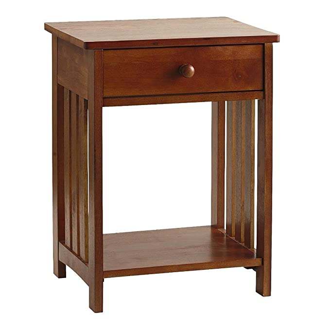 Strange Amazon Com Adeptus Mission Style Wood End Table Kitchen Pdpeps Interior Chair Design Pdpepsorg