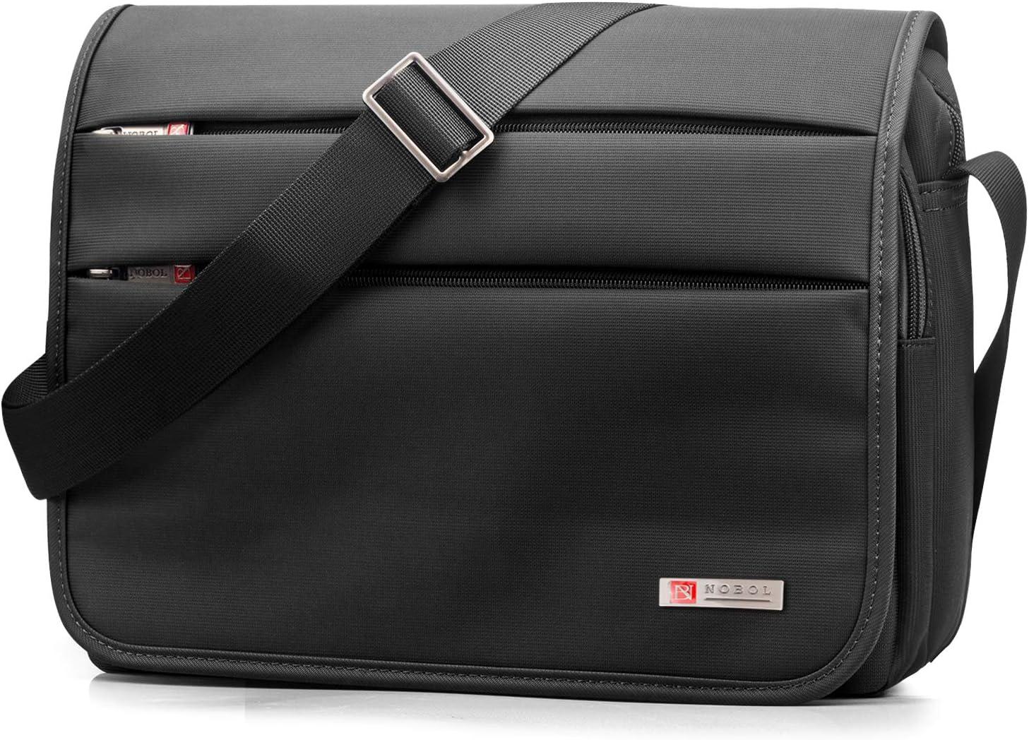 SPAHER Bolso de hombro para hombre maletín Ipad Laptop Work Messenger Bolso de negocios escuela Crossbody bolso de mano Bolso de viaje prueba de agua para portátil MacBook Air 11.6
