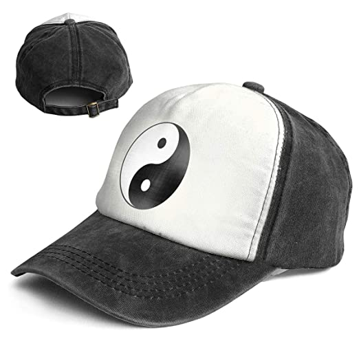 Image Unavailable. Image not available for. Color  Fashion Vintage Hat Yin  Yang Symbol Adjustable Dad ... f0360d73587