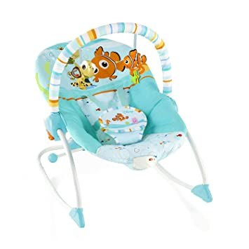 64f696cb3 Disney Baby Find Nemo Infant to Toddler Rocker: Amazon.co.uk: Baby