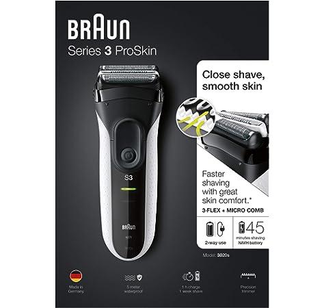Braun 190 S-1 - Afeitadora eléctrica: Amazon.es: Salud y cuidado personal