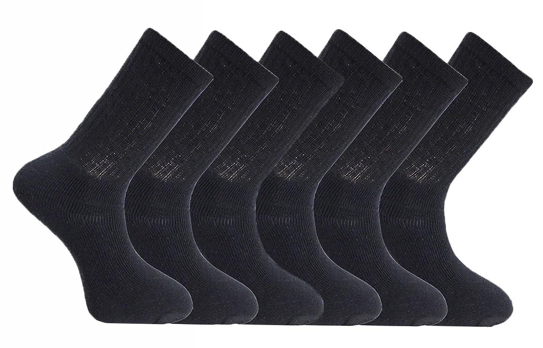 outlet Para hombre Plain Athletic Sport calcetines 3 6 9 12 15 pares ... 2b4f45ab2046
