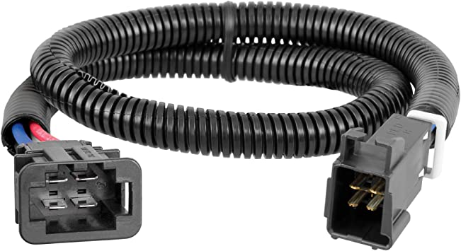 Amazon Com Curt 51522 Quick Plug Brake Controller Wiring Harness Compatible With Select Audi Q5 Sq5 Q7 Volkswagen Atlas Touareg Automotive