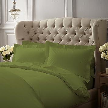 Luxuriös 800 Fadenzahl 100% ägyptische Baumwolle Bettbezug Von Kotton  Kultur Solide (Anti Milben