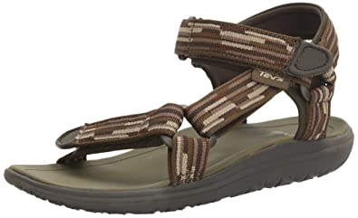 ee420037e52ea0 Teva Boys  Terra-Float Universal Sandal Tacion Brown Black Olive 1 M US