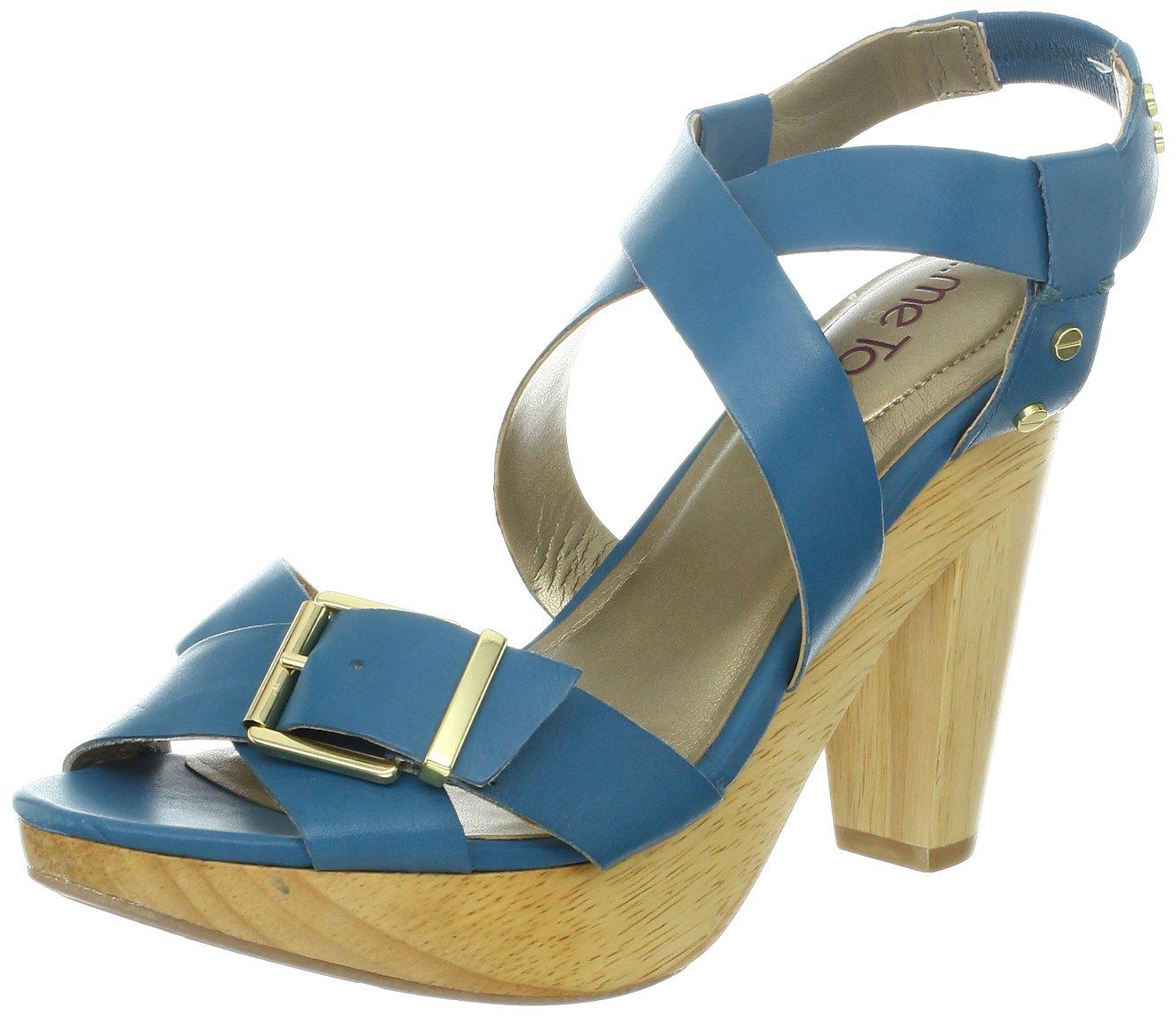 Me Too Women's Ebony Platform Sandal B009OAO5IA 8.5 B(M) US|Azure Blue