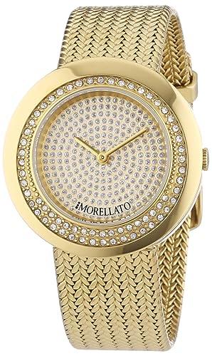 Morellato Damen-Armbanduhr XS Analog Quarz Edelstahl R0153112501