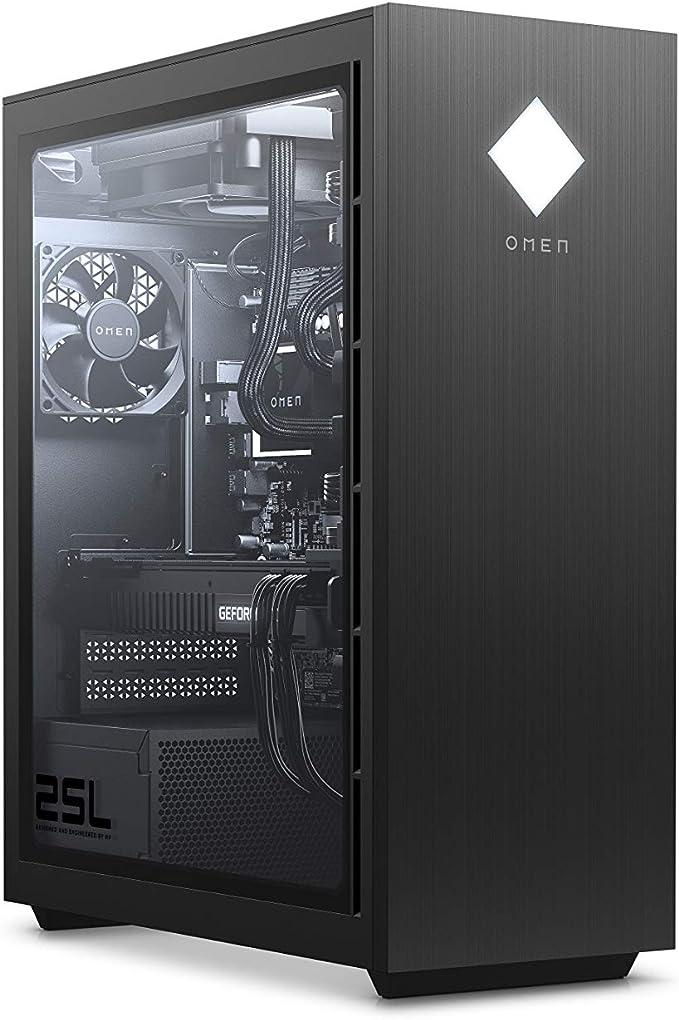 PC HP Omen GT12-0430nf Negro Core i7-10700 16GB DDR4 HyperX XMP RGB HDD 1TB 7200 RPM SSD 256 GB RTX 2060 Super WIN10 1T0M9EA#ABF: Amazon.es: Electrónica