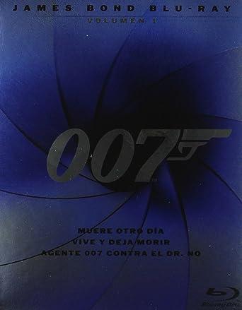 James Bond Volumen 1 - Blu-Ray Pack 3 [Blu-ray]: Amazon.es: Halle ...
